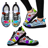 Book Reader Sneakers-Clearance