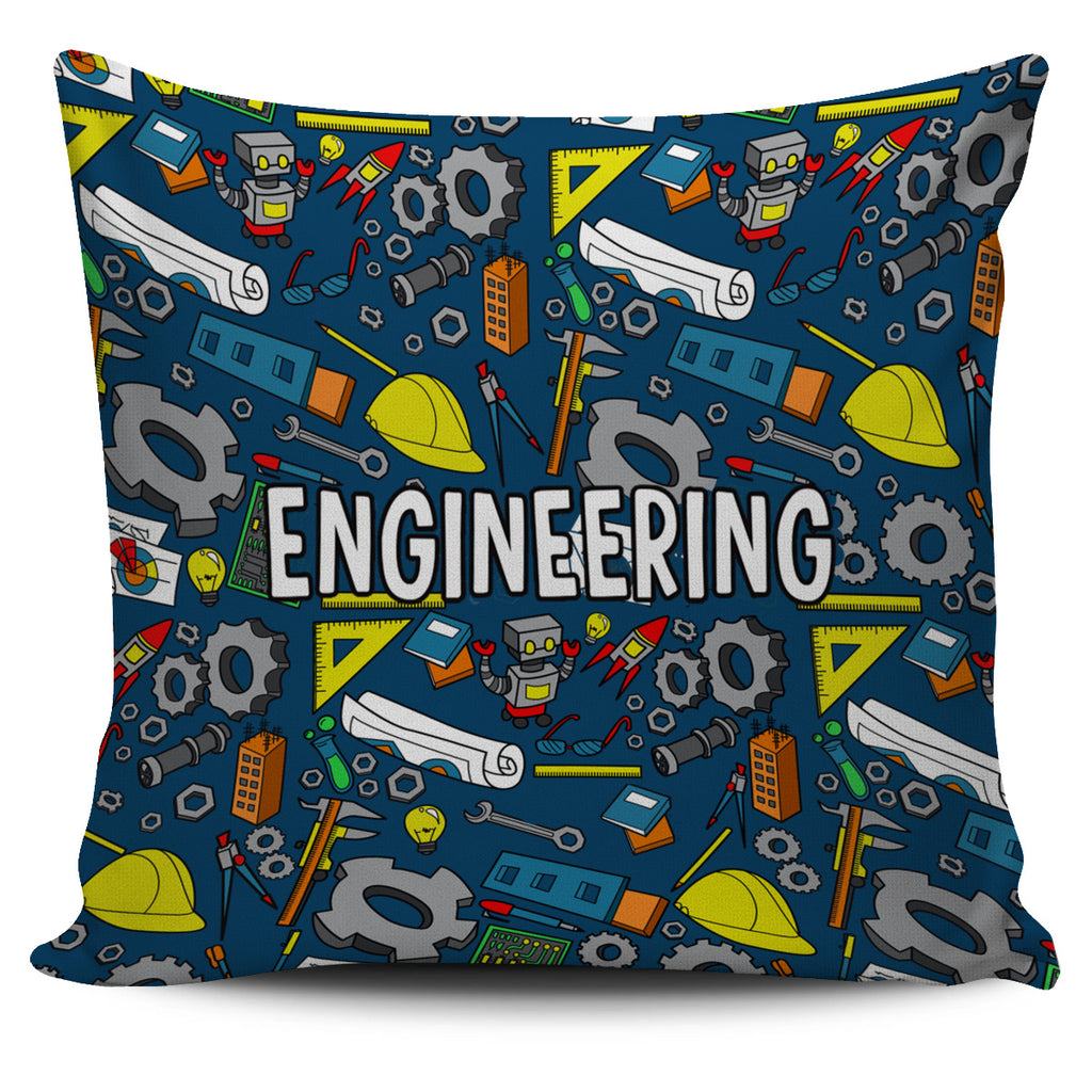 Engineering Pillow Cover