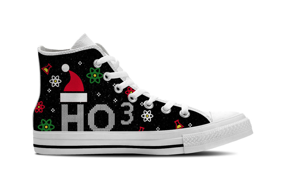 new style 63945 292c5 ... Chemistry Ugly Christmas High Top Shoes ...