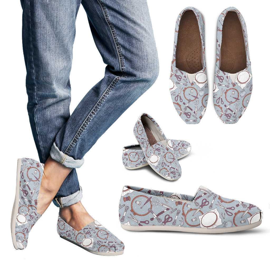 Embroidery Pattern Casual Shoes
