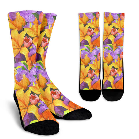 Florist Patterned Socks