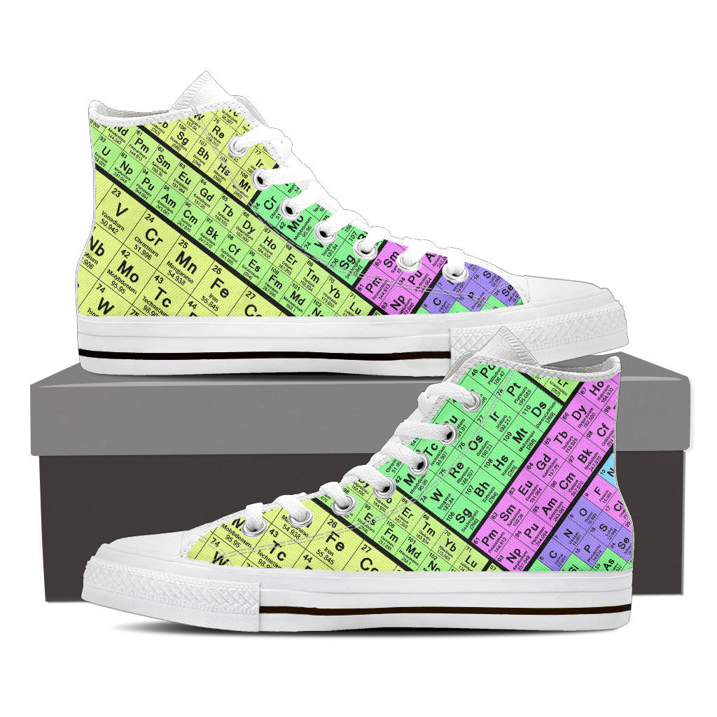 Periodic Table Shoes Groove Bags
