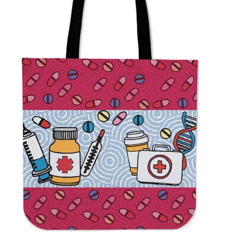 Pharmacist RX Linen Tote