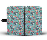 Catahoula Flower Wallet Phone Case