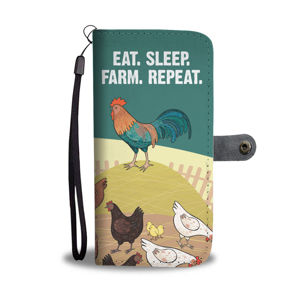 Farm Repeat Wallet Phone Case