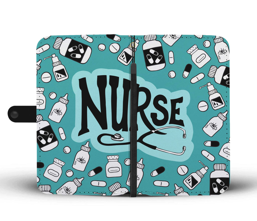 Nurse Care Wallet Phone Case