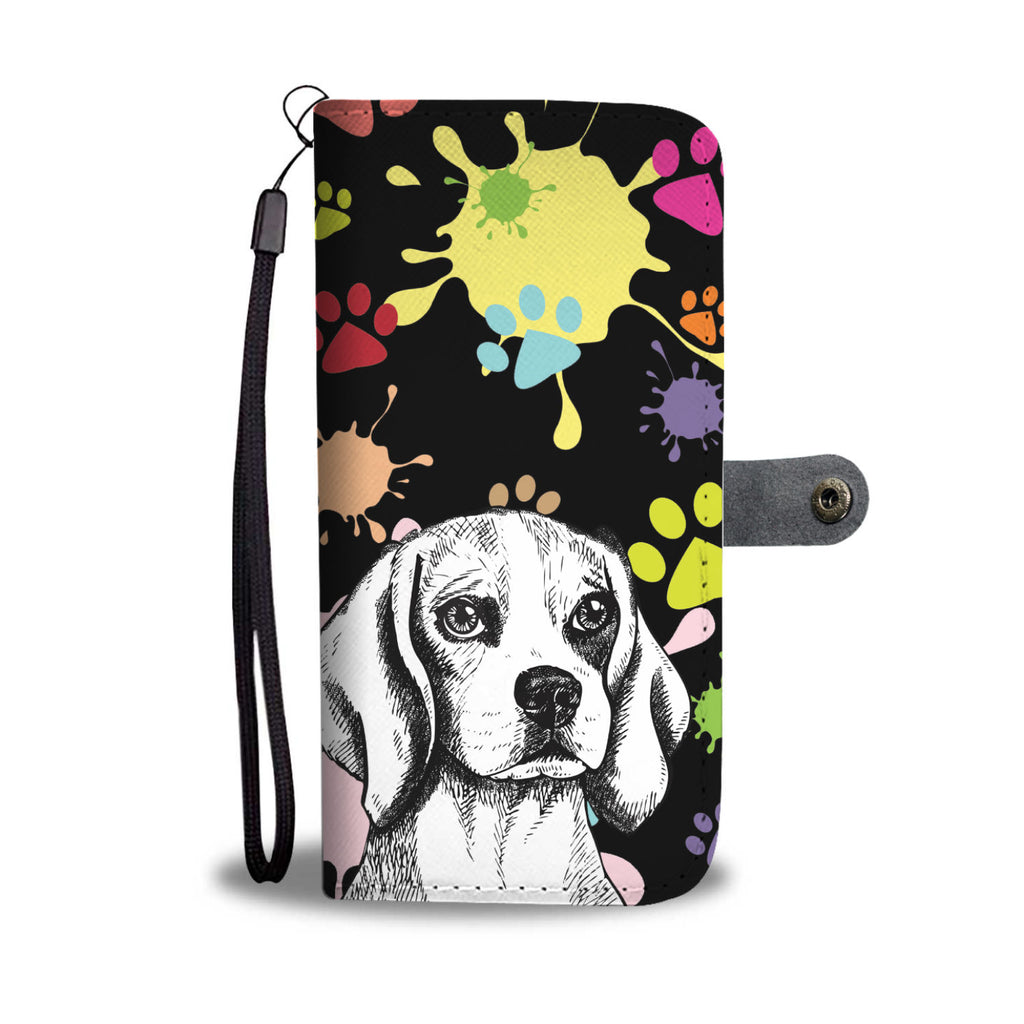 Artsy Beagle Wallet Phone Case