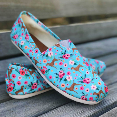 Vizsla Flower Casual Shoes