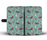 Airedale Terrier Flower Wallet Phone Case-Clearance