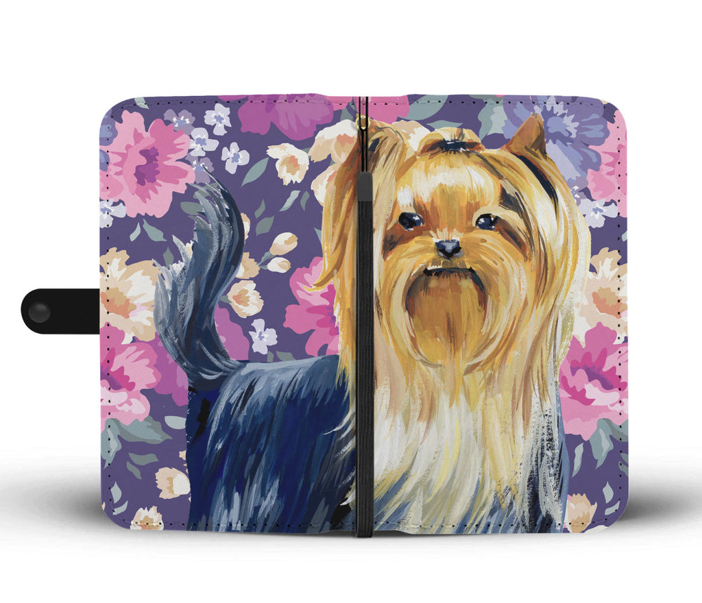 Yorkshire Terrier Sweetheart Wallet Phone Case