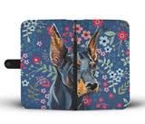Doberman Sweetheart Wallet Phone Case-Clearance