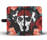 Dalmatian Pirate Wallet Phone Case-Clearance