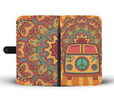 Hippie Van Wallet Phone Case