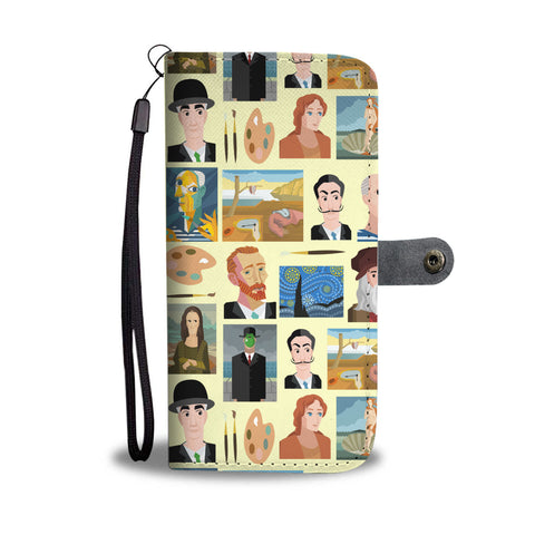 Famous Painters Wallet Phone Case