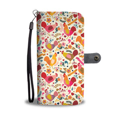 Adorable Chicken Wallet Phone Case