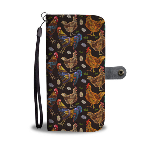 Chicken Family Wallet phone Case-Clearance