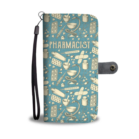 Vintage Pharmacist Wallet Phone Case-Clearance