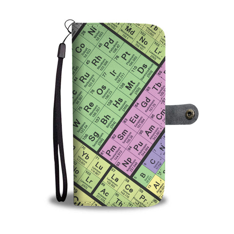 Periodic Table Wallet Phone Case-Clearance