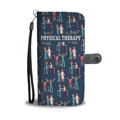 Physical Therapy Wallet Phone Case