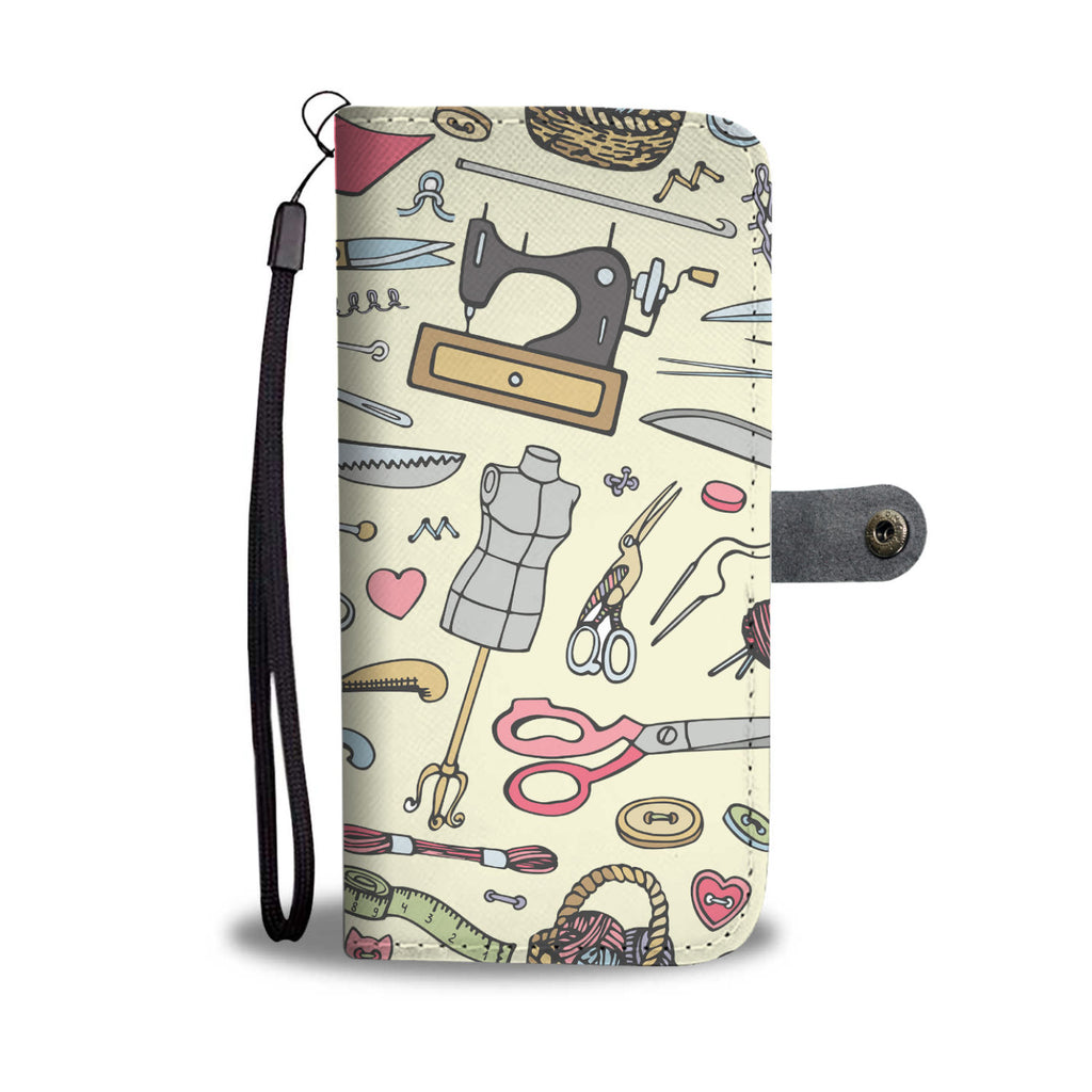 Crafty Wallet Phone Case-Clearance