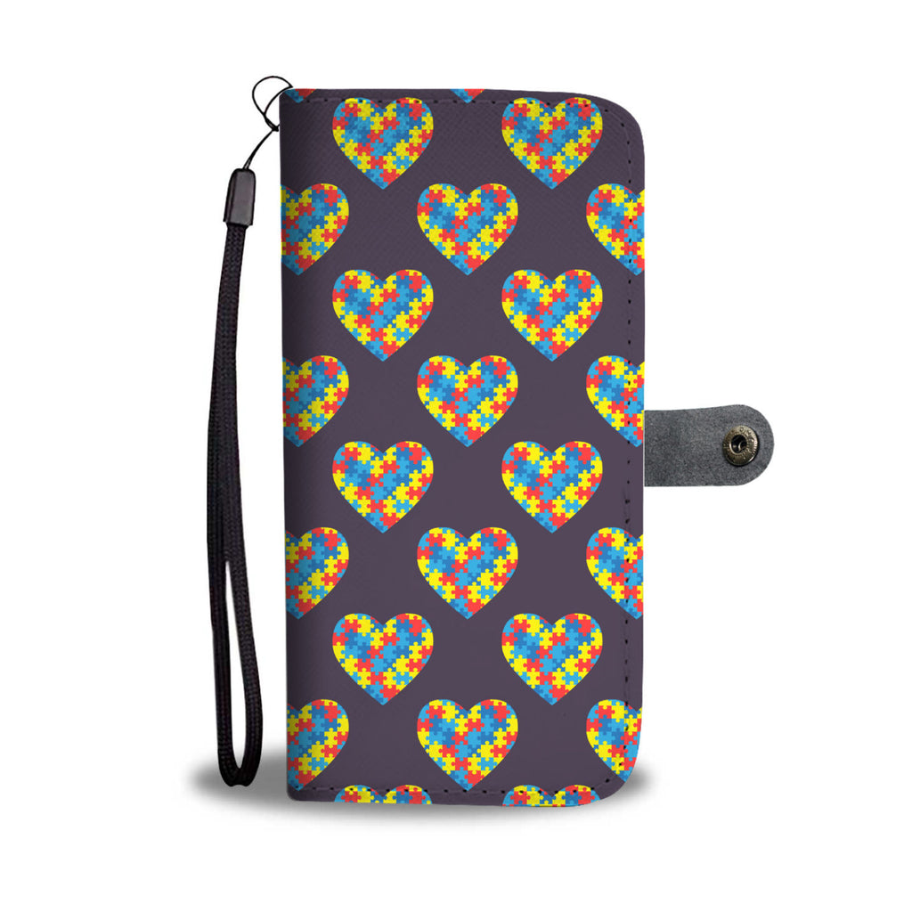 Autism Awareness Wallet Phone Case