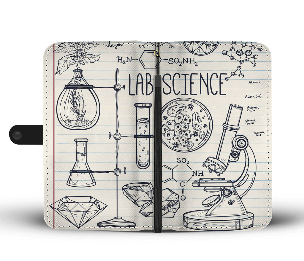 Lab Science Wallet Phone Case-Clearance
