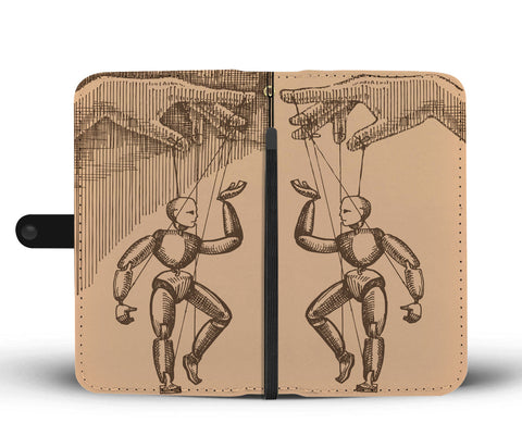 Puppet Strings Wallet Phone Case
