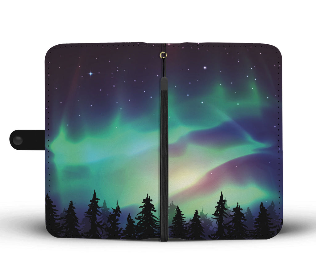 Aurora Borealis Wallet Phone Case