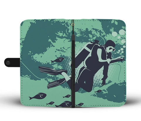Scuba Lifestyle Wallet Phone Case