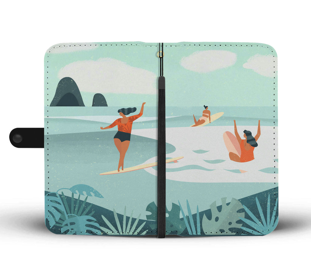Surfing Boss Wallet Phone Case