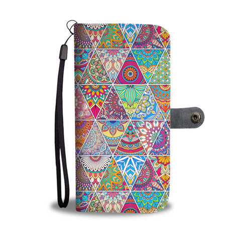 Bohemian Wallet Phone Case