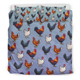 Farm Chicken Bedding Set