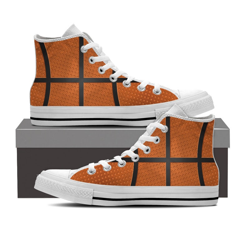 Basketball Pattern Shoes
