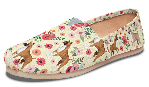 9355bb35f Boxer Flower Casual Shoes