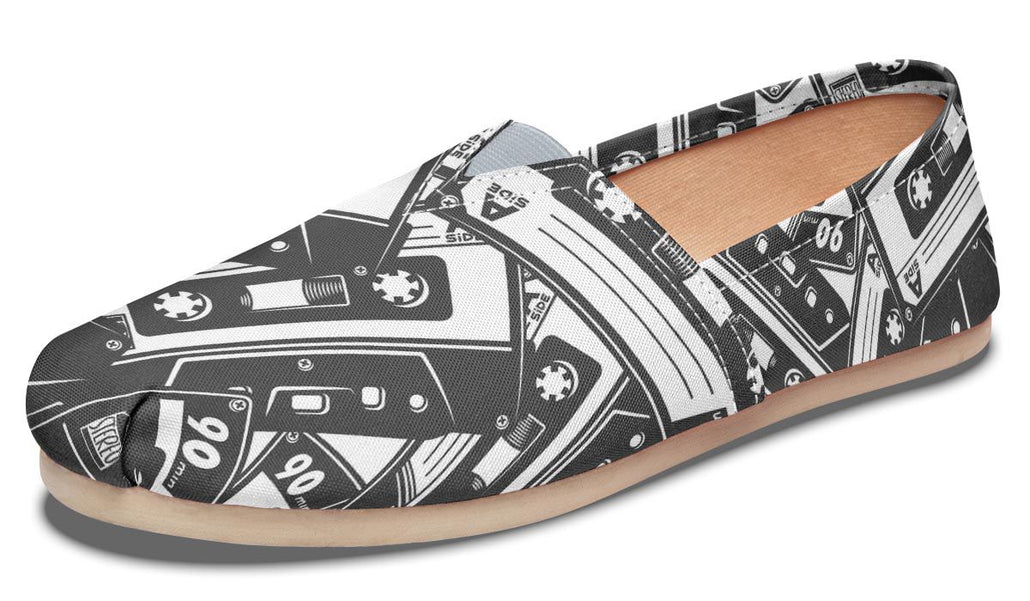 Cassette Tape Casual Shoes