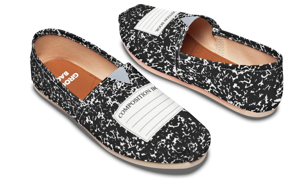 Composition Book Casual Shoes – Groove Bags