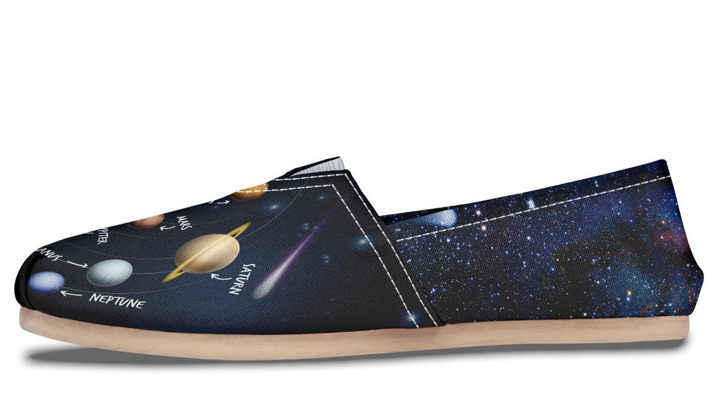 Solar System Diagram Casual Shoes – Groove Bags