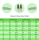 Akita Flower Casual Shoes-Clearance