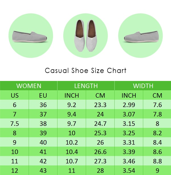 Whale Diagram Casual Shoes Groove Bags