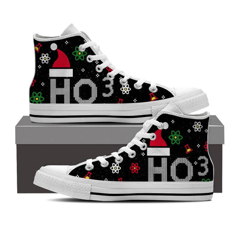 Chemistry Ugly Christmas High Top Shoes