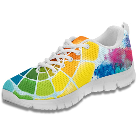 Color Wheel Sneakers-Clearance