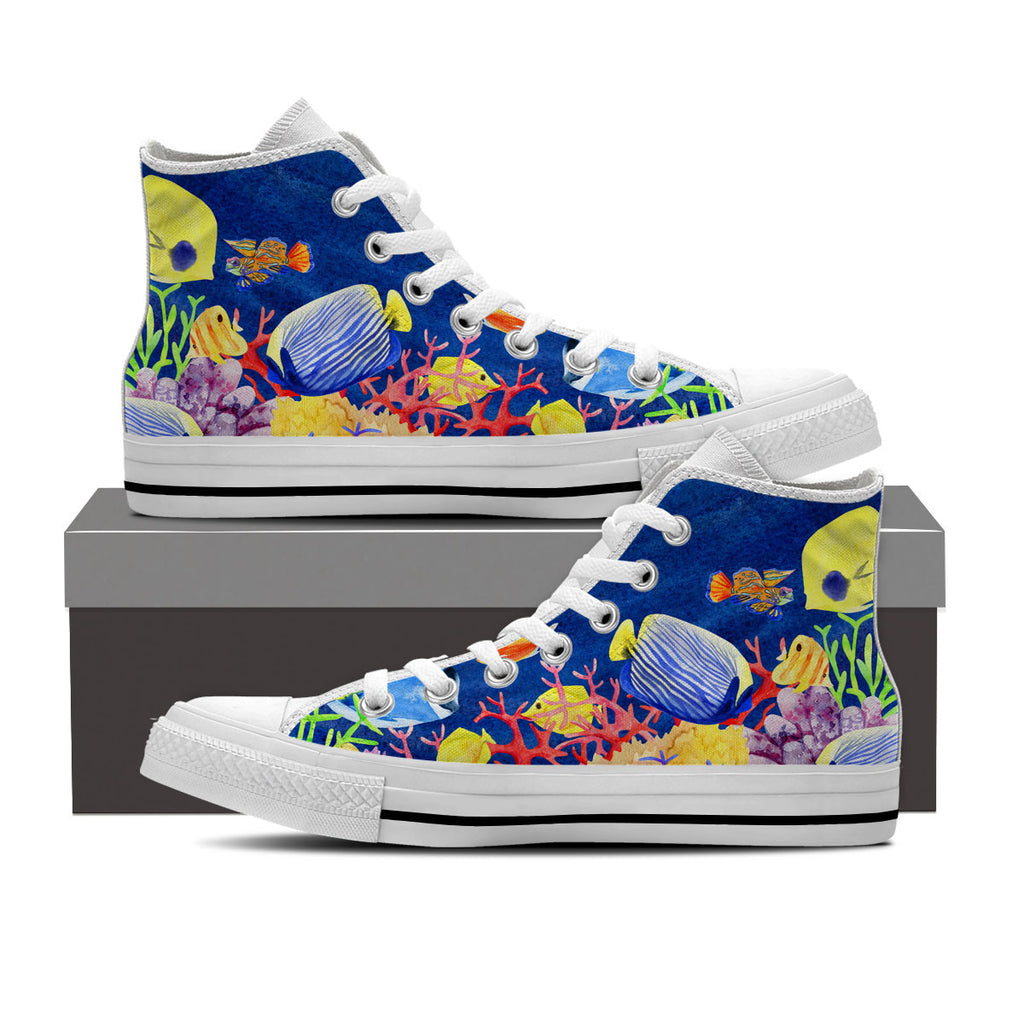 Tropical Fish Shoe