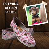 Custom Dog Casual Shoes