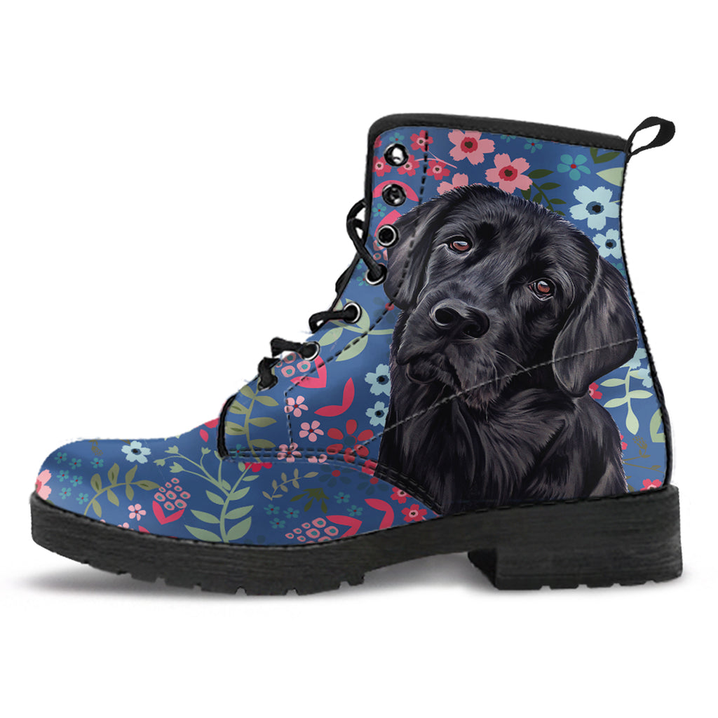 Black Lab Sweetheart Boots-Clearance