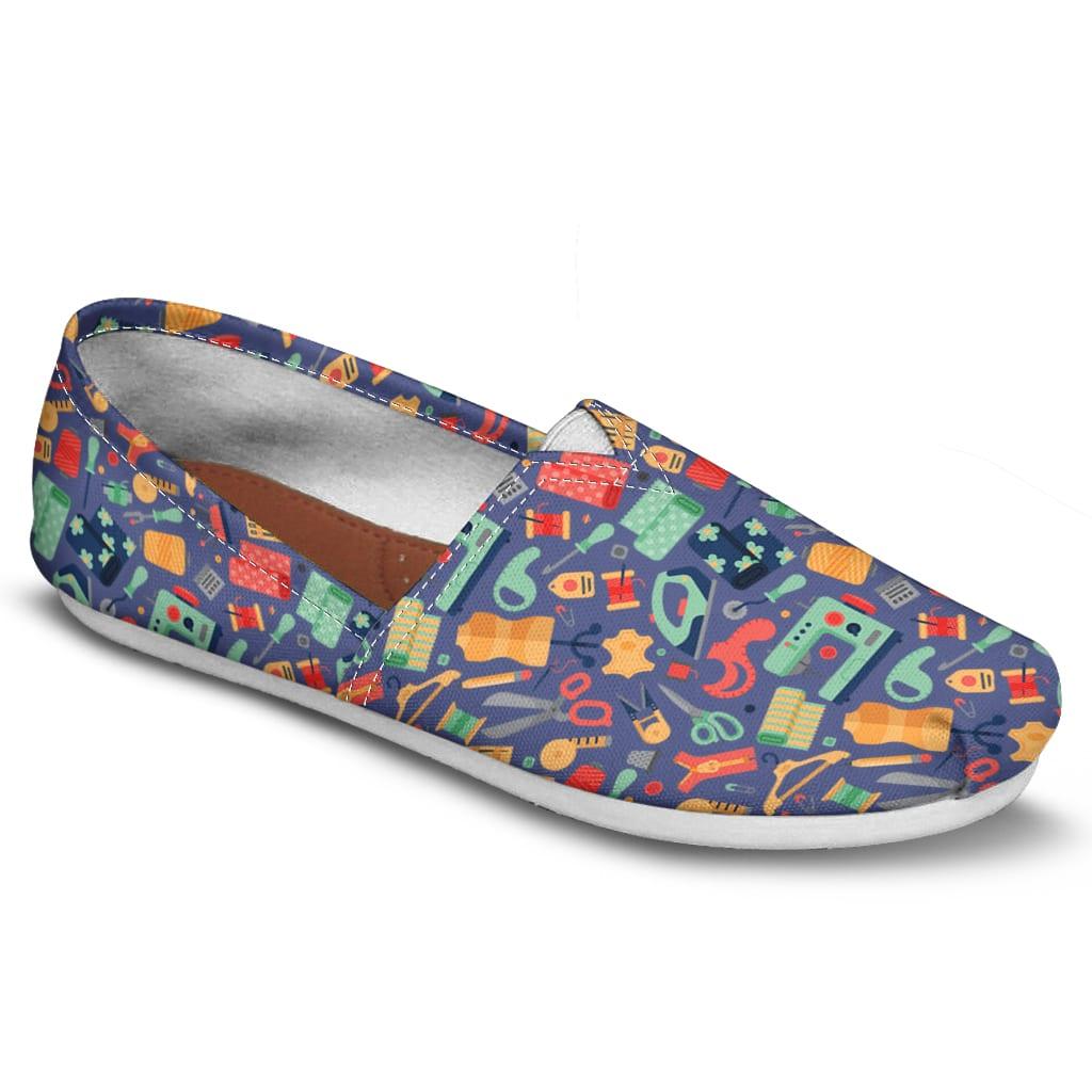 Quilting Pattern Casual Shoes-Clearance
