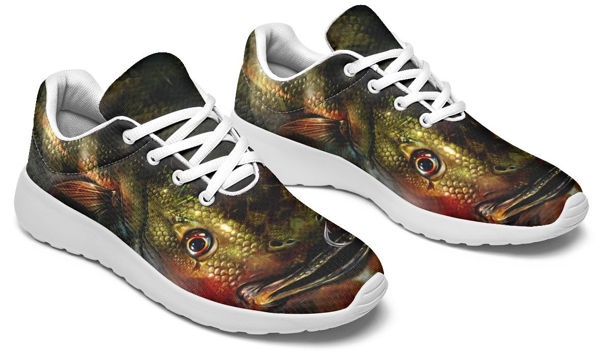 Realistic Fish Sneakers – Groove Bags