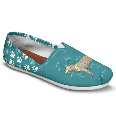 Veterinary Skeletal Diagram Casual Shoes-Clearance