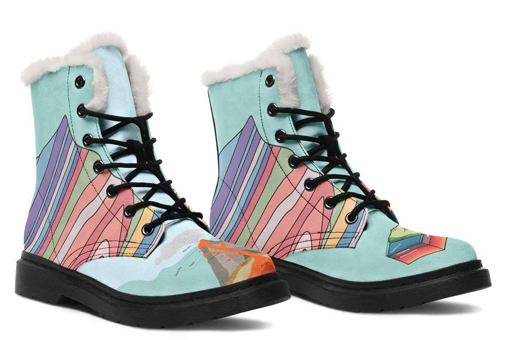 Geology Diagram Winter Boots  U2013 Groove Bags