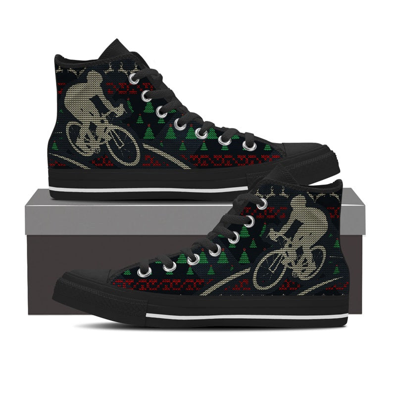 wholesale dealer 6cd59 68b73 Bicycle Ugly Christmas Shoes