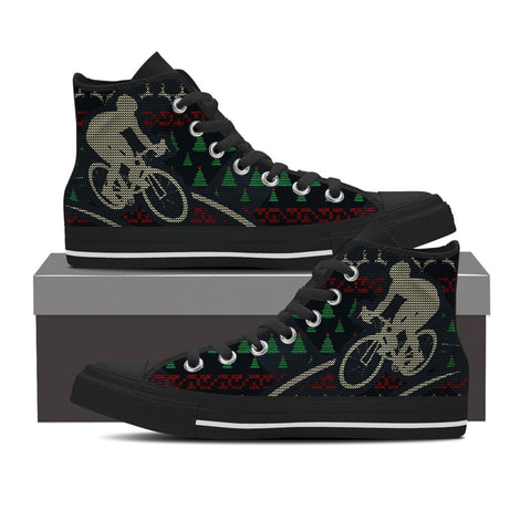 Bicycle Ugly Christmas Shoes